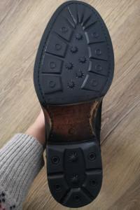 Czarne buty zimowe męskie...