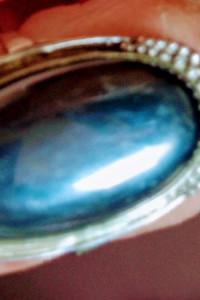 Warmet srebrny pierścionek stary