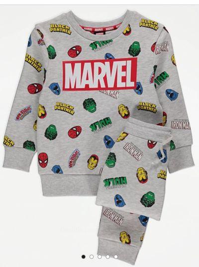 Dresy dres dla chlopca Marvel Spider man Batman Hulk joggery bluza 92 98 cm