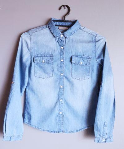 Bluzy Bluza Dżinsowa Dziewczęca