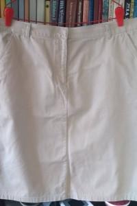 Świetna jasna spódnica bawełniana