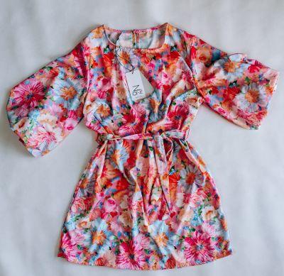 Suknie i sukienki Sukienka FLOWERS PINK