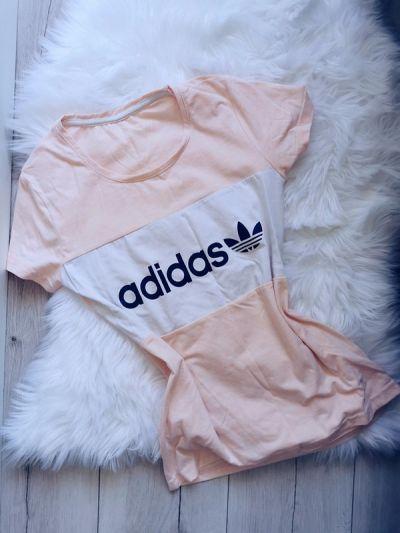 Bluzki bluzka adidas z krótkim rękawem