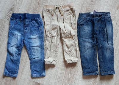 Spodnie i spodenki Spodnie chłopięce 3 pary