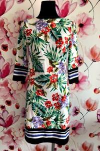 primark sukienka modny wzór kwiaty hawajska jak nowa hit 38...