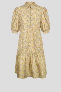 Nowa sukienka Orsay 34 XS bawełniana w kwiaty wzór floral midi ...