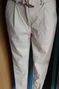 Spodnie z eko skórki...