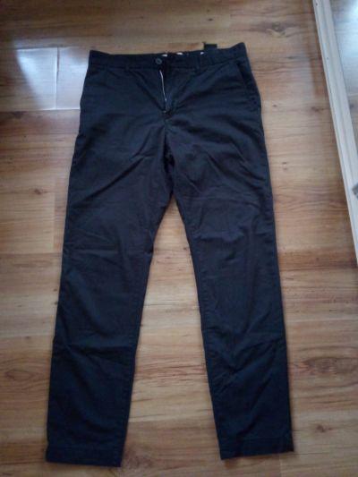 Spodnie Spodnie męskie młodzieżowe czarne