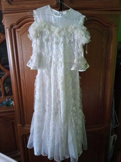 Sukienki i spódniczki Sukienka biala dluga 140