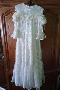 Sukienka biala dluga 140...