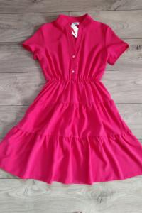 Piękna sukienka letnia z falbanką...