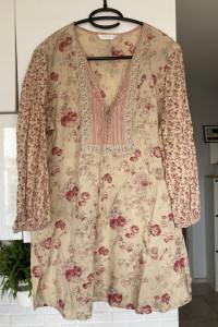 Promod kwiatowa tunika bluzka floral rozmiar 42...