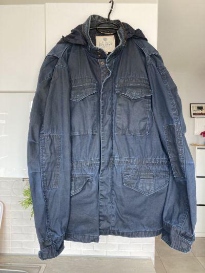 Kurtki i płaszcze Fat Face kurtka męska granatowa rozmiar L