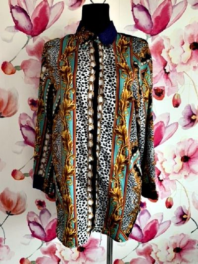 Koszule bershka koszula modny ciekawy wzór hit blog 36