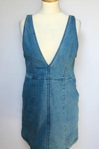 Sukienka Dzinsowa H&M Jeans L 40 Prosta Jeansowa...