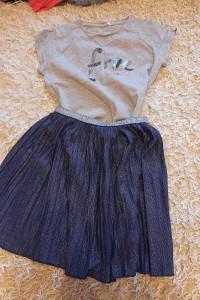 spódniczka i bluzka