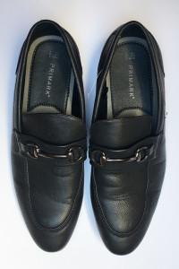 Mokasyny Męskie Czarne Primark 42 285 cm Eleganckie