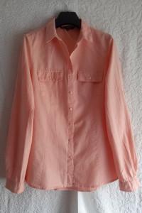 Koszula bawełna pudrowy róż Reserved rozmiar M...