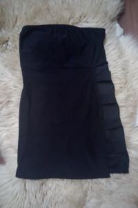 sukienka pretty litttle thing hiszpanka mini s m wycięcia seksowna odkryte ramiona krótka