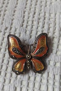 Srebrny motyl