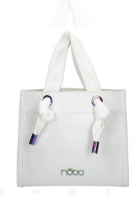 Nowa biała z miękkimi uszami torebka Nobo...