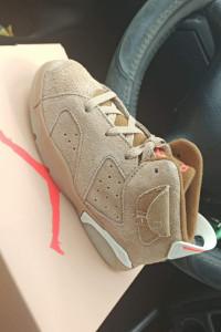 Travis Scott Nike Air Jordan 6 British Khaki...
