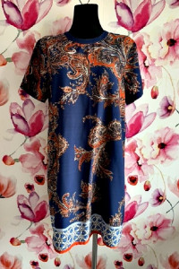 boohoo sukienka wyszczuplający wzór boho hit blog 44