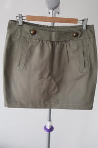 Nowa krótka spódnica khaki zielona...