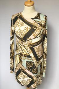 Sukienka Gina Tricot M 38 Prosta Wzory Wzorki Letnia