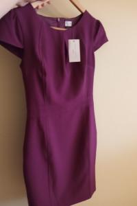 Elegancka sukienka z krótkim rękawem NewLook