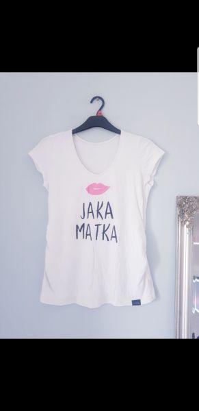 T-shirt T shirt ciążowy jaka matka