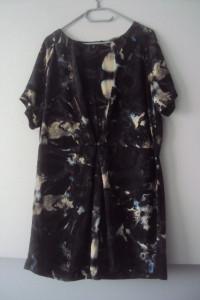 elegancka sukienka z suwakiem