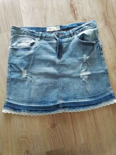 Spódnice jeansowa spódnica L