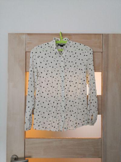 Koszule Koszula w ptaki wiskoza