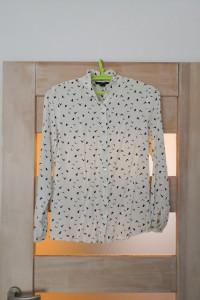 Koszula w ptaki wiskoza