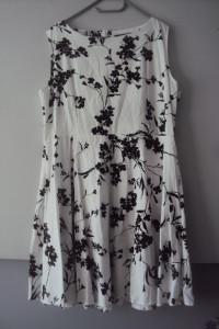 rozkloszaowana sukienka