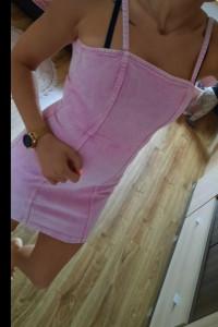 Jeansowa sukienka hm...