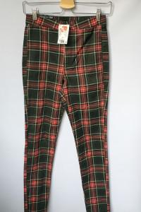 Spodnie Kratka NOWE H&M S 36 Tregginsy Rurki Kratkę...