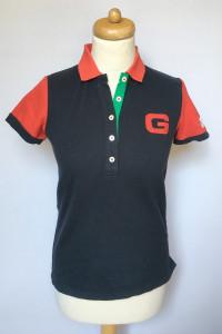 Koszulka Polo Granatowa Gant M 38 Bluzka Damska...