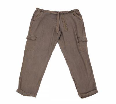Spodnie SPODNIE BOJÓWKI KHAKI NA LATO CIENKIE 46 48
