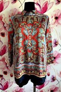 zara koszula modny wzór ornament jak nowa hit 36...