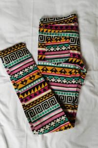 Rurki w azteckie wzory