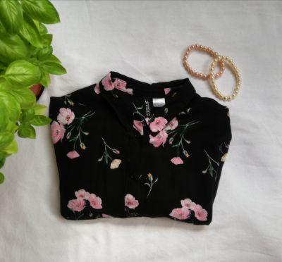 Koszule Koszula w kwiaty H&M
