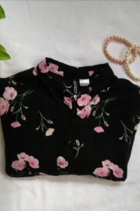 Koszula w kwiaty H&M...
