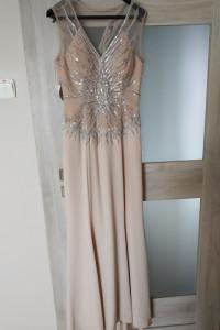sukienka długa imprezowa 38 40