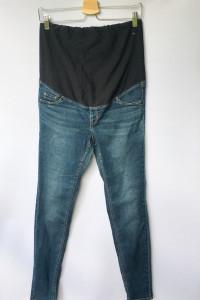 Spodnie Dzinsowe Tregginsy H&M Mama XXL 44 Super Skinny...