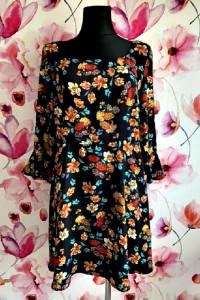 primark sukienka modny wzór kwiaty floral hit 42...