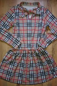 Piekna sukienka kratka burberry...