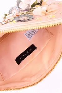 Nowa torebka kopertówka haftowana cekinami New Look...