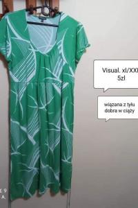 Sukienka xl xxl codzienna dobra w ciąży...